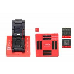 ICFriend ufs 2 in 1 adaptor Support UFS BGA-254 BGA-153 for Easy J-tag plus box
