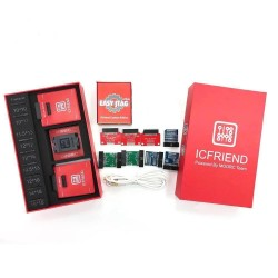 EASY JTAG  RED EDITION FULL SET WITH 13 IN 1 ICFREIND