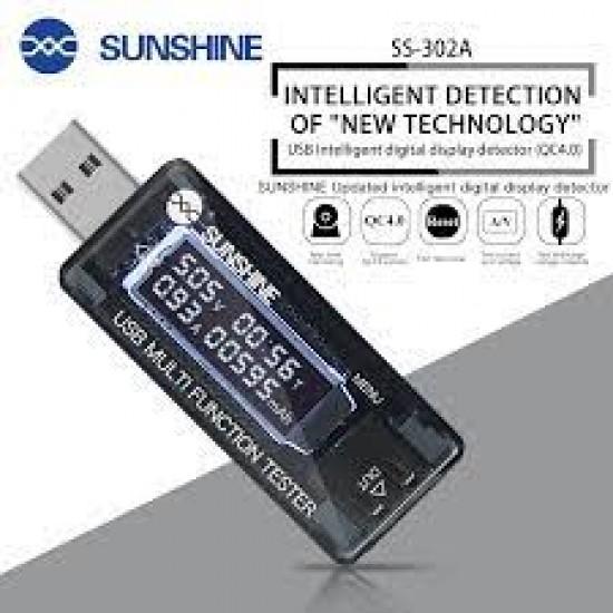 SUNSHINE SS-302A USB Digital Tester
