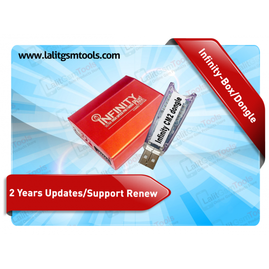 2 Years Updates/Support Renew for Infinity-Box/Dongle (Chinese Miracle-2 Included)