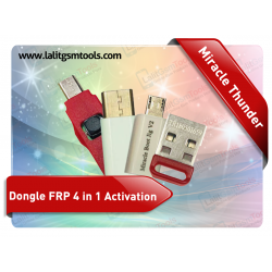 Miracle Thunder Dongle with Free FRP 4 in 1 Activation