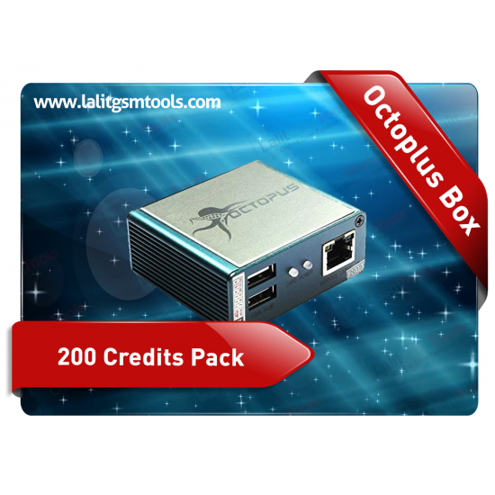 Octopus Box 200 Credits Pack