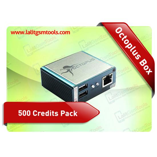 Octopus Box 500 Credits Pack