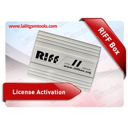 RIFF Box License Activation
