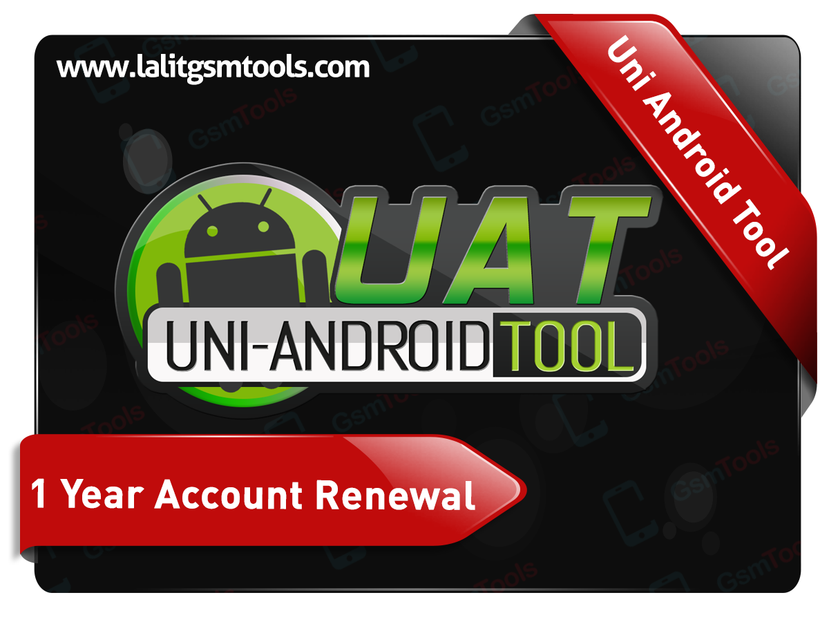 Uni Android Tool 1 Year Account Renewal