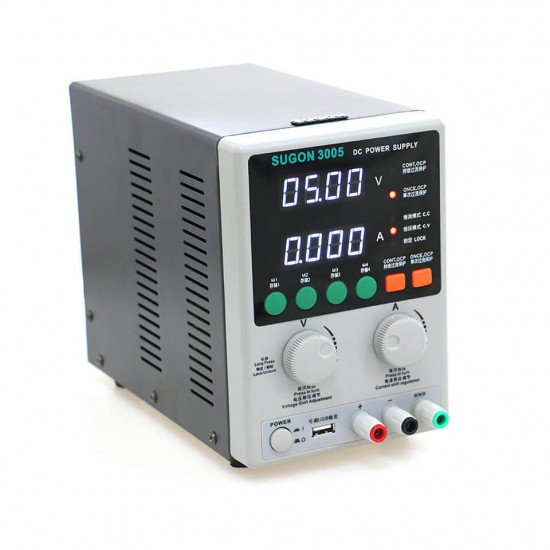 SUGON 3005 ADJUSTABLE DIGITAL DC POWER SUPPLY