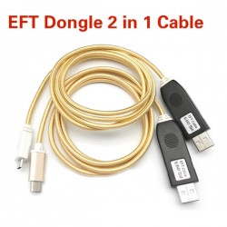 EFT Dongle 2 In 1 Cable USB Unlock Cable EFT Cable Serial UART 2 In 1 For EFT Dongl