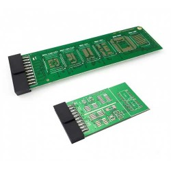 UFI eMMC – BGA Soldering Adapter (BGA169/153/186/162/221/254/529/100) + CHIP Programming Adapter for UFI-Box